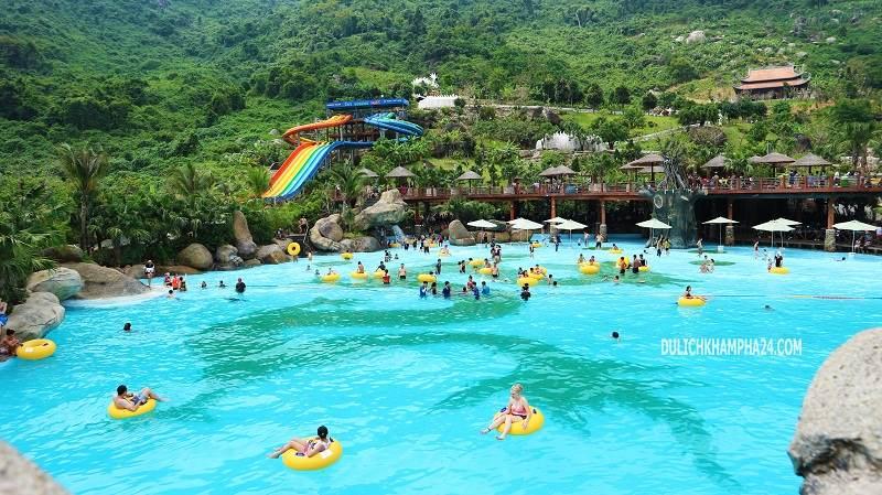 Wave pool - Mount Than Tai