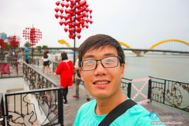 Da Nang tourism is very beautiful in the days of June