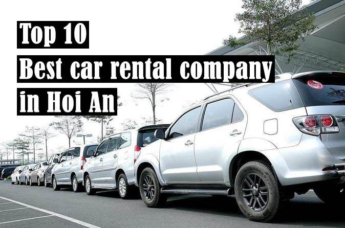 Top 10 best car rental company in Hoi An