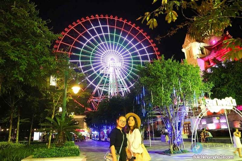 Danang tourism to discover Asia Park