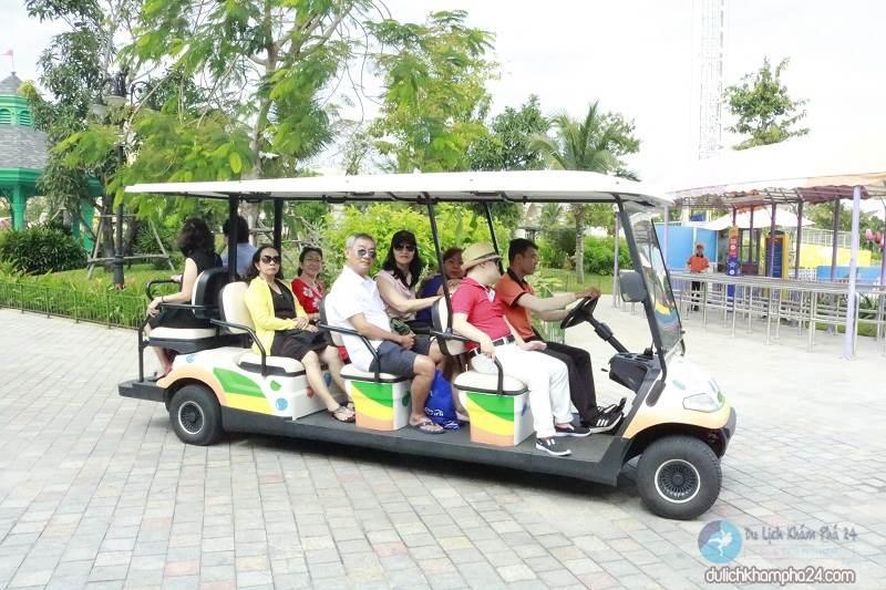 Tram in Vinpearl Nam Hoi An
