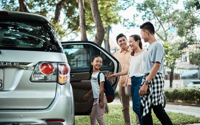 Grab car from Hoi An to Da Nang